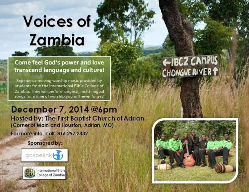 Dec 7 (zambia) ad